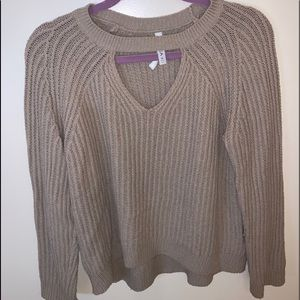 RVCA low cut out sweater